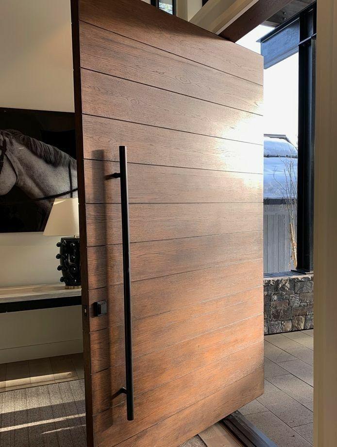 Modern Entrance Door, Main Entrance Door Design, Modern Exterior Doors, Design Exterior, Modern Front Door, Door Design Interior, House Entrance, Entrance Doors, The Doors
