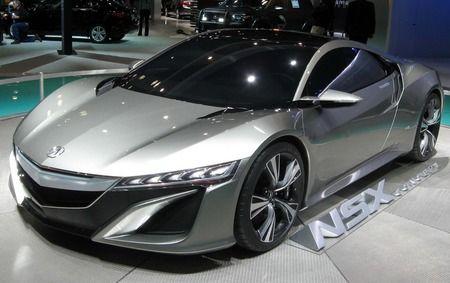 2016 Acura NSX - competitors