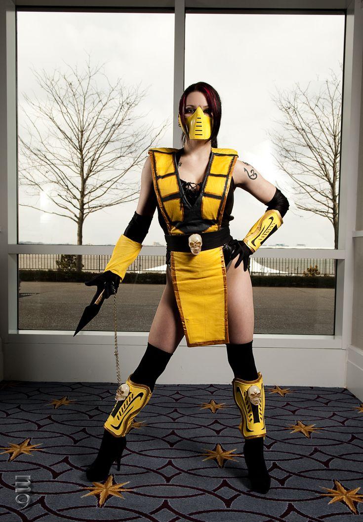 female scorpion mortal kombat by m9cosplaydeviantartcom - Mortal Kombat Smoke Halloween Costume
