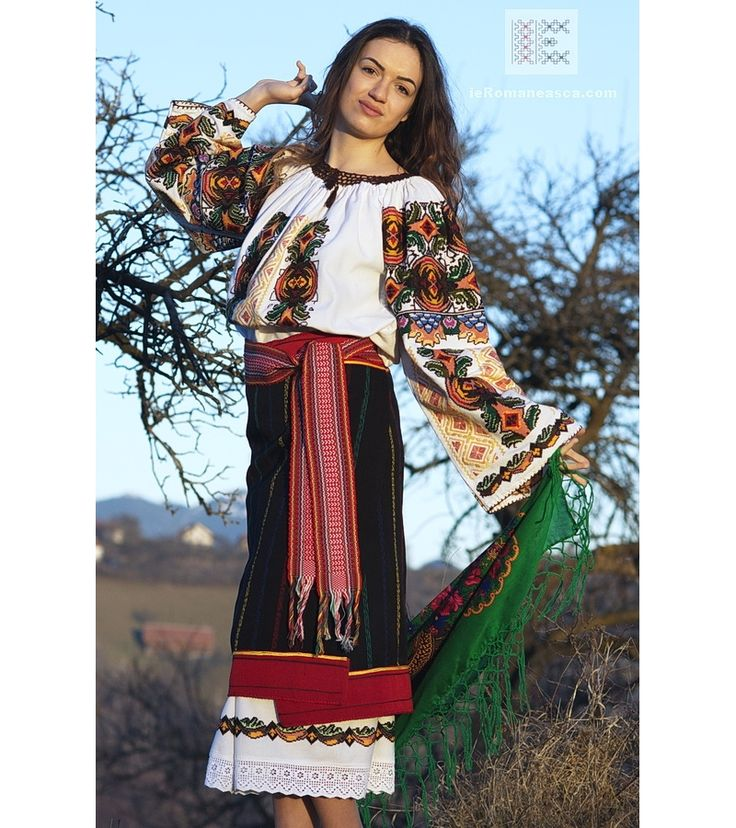 costume populare romanesti - costume nationale din Bucovina