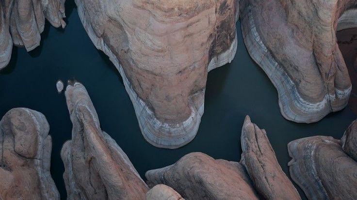 Lago Powell: a seca na América revelou paisagens fantásticas - Observador