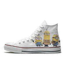 Converse AllStar scarpe personalizzate Minion