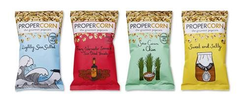 Different Brands of Popcorn | New popcorn brand, Propercorn, wants to stand out from crowd