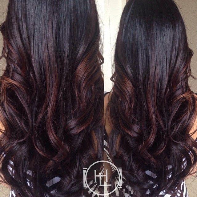 Long Dark Hair: