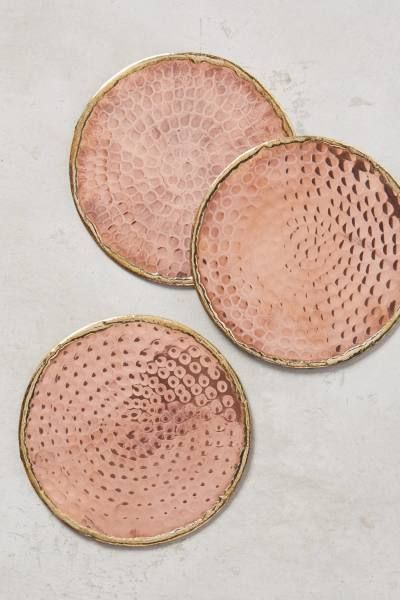 Anthropologie Glimmer Ring Coaster: http://www.stylemepretty.com/living/2015/10/24/spotted-on-saturday-rose-gold-finds-for-the-home/