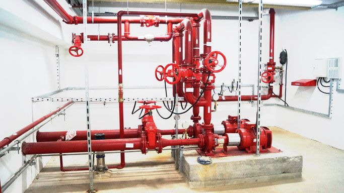 pompownia pożarowa tryskaczowa serwis remont montaż instalacja