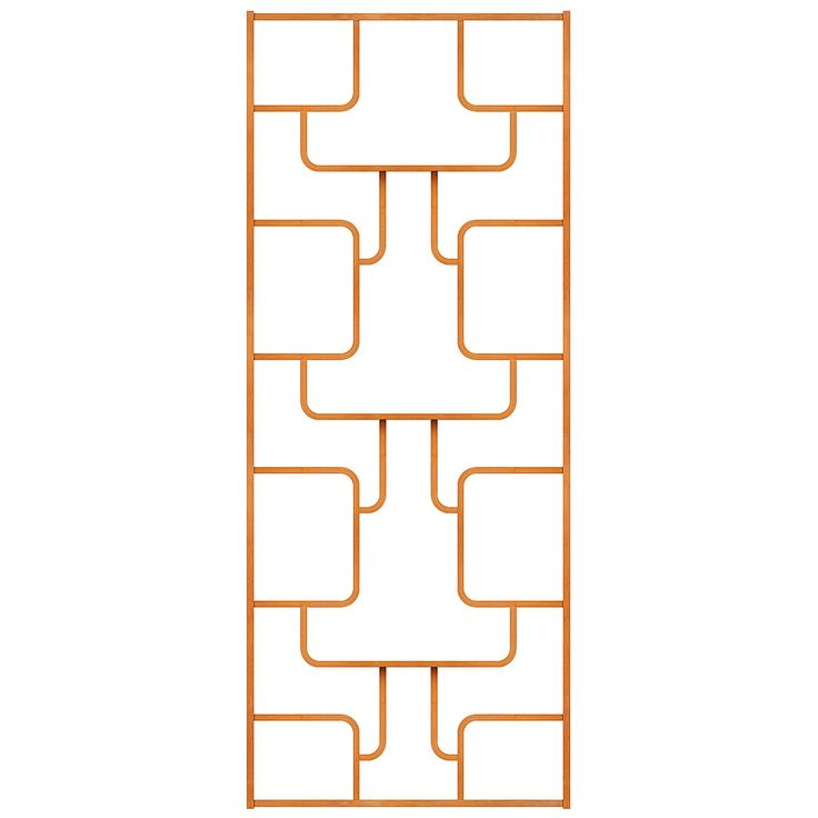 Dělící či květinová stěna/Dividing wall