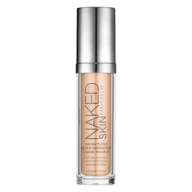 Urban Decay Fusing cutting-edge technology with high-performance pigment, this ultra-definition liquid foundation delivers a perfected look and weightless feel to skin.