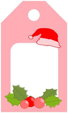 Recursos gratuitos etiquetas para regalos de navidad - Regalos para pedir en navidad ...