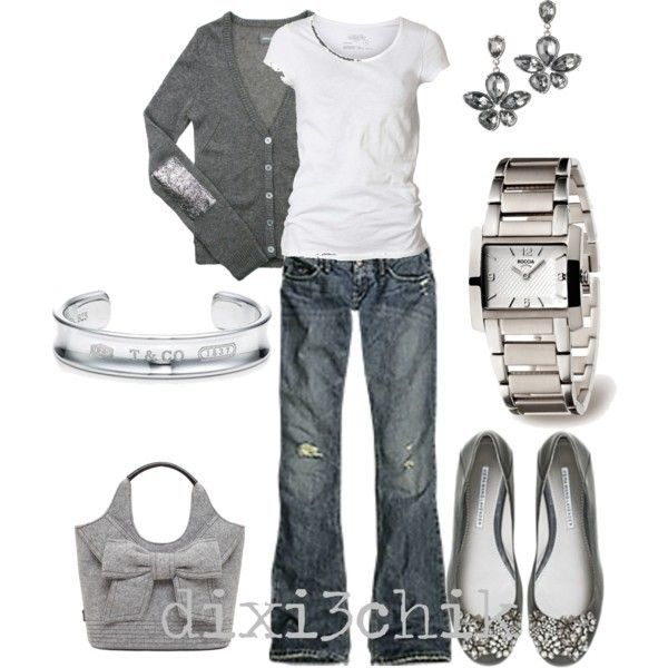 silver, gray & white | My Style: Fashion is my Passion | Pinterest | Style, Fashion and Outfits