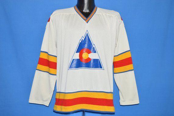 77acd7eb515 70s Colorado Rockies Hockey Jersey t-shirt Medium   Products ...