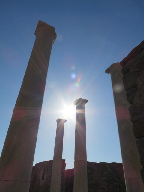 Delos! Mythology, ancient Greece & positive energy in such a small island!