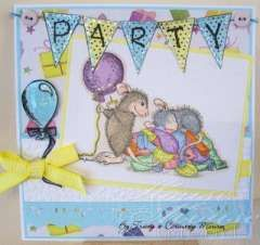 """""""Let's Have A Party"""" by Tracy Thompson on House-Mouse Designs®"""