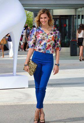 Mu00e1s De 25 Ideas Fantu00e1sticas Sobre Pantalon Azul Rey En Pinterest | Vonjunto Con Pantalones ...