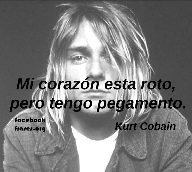 Frases para Facebook de Kurt Cobain - Facebook Frases.org