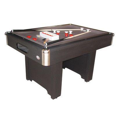 "Hartford 3/4"" Slate Bed Bumper 4' Pool Table for Sale | Wayfair"