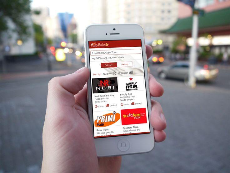 Orderin - Design Concept, Mobile App, Mobile UX, Mobile UI