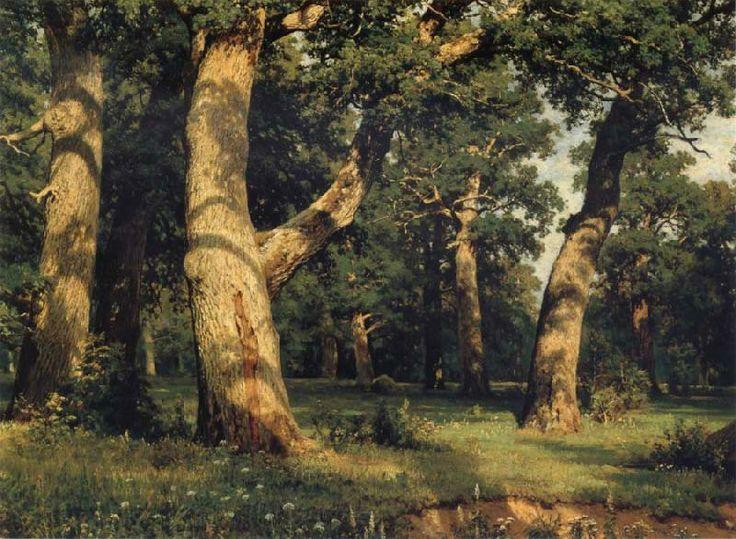 Ivan Shishkin Oak of the Forest