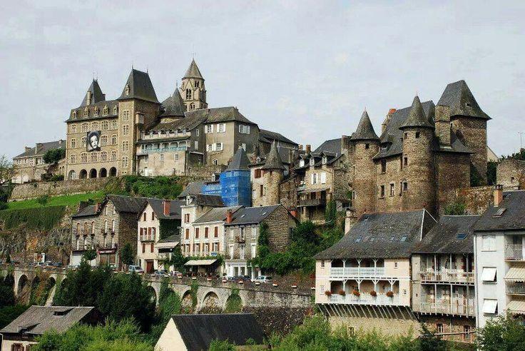 Vue d'Uzerche #Limousin