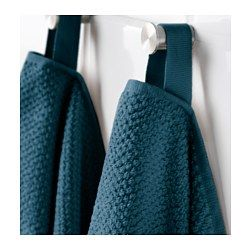 IKEA - FRÄJEN, Bath towel, A terry towel in medium thickness that is soft and highly absorbent (weight 500 g/m²).The long, fine fibers of combed cotton create a soft and durable towel.