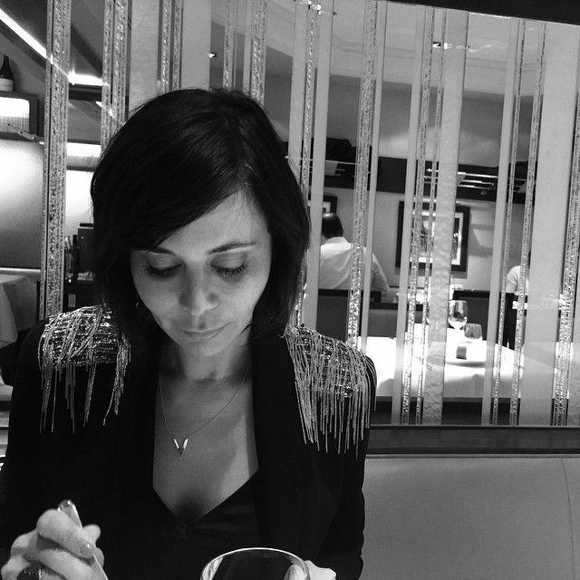 Enjoying my first amazing parisian meal!