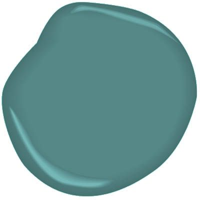 maya teal This striking teal traces its history to a reclaimed baluster from a demolished late 18th or early 19th century house that once stood near the Capitol. benjamin moore