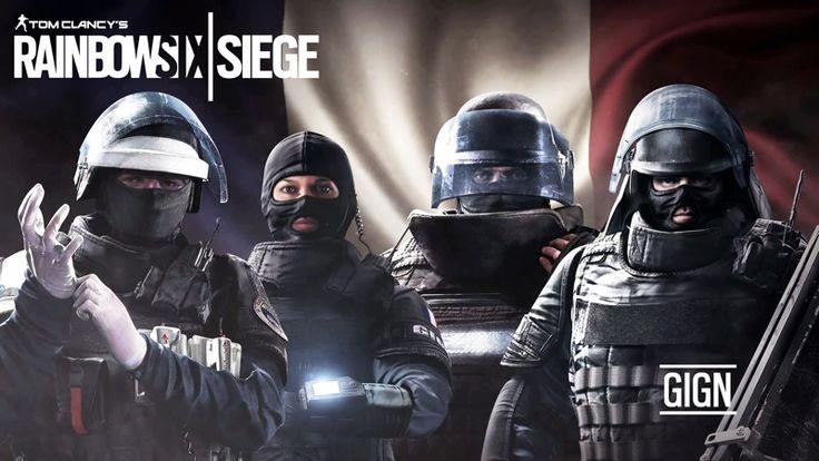 Rainbow Six Siege GIGN Unit Videosu