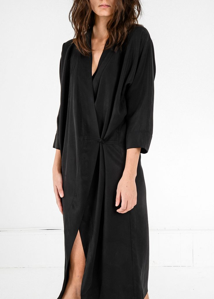 Black Dress // Made in Canada