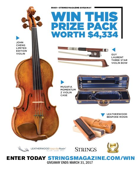 #Win a #JohnCheng Limited Edition Violin Prize Package | Cazador de sorteos #Contest, #enter, #Giveaway, #GuyLaurent, #instrument, #JohnCheng, #LimitedEdition, #Magazine, #Music, #Online, #Sweepstakes, #ThreeStar, #Violin, #violin #bow, #win