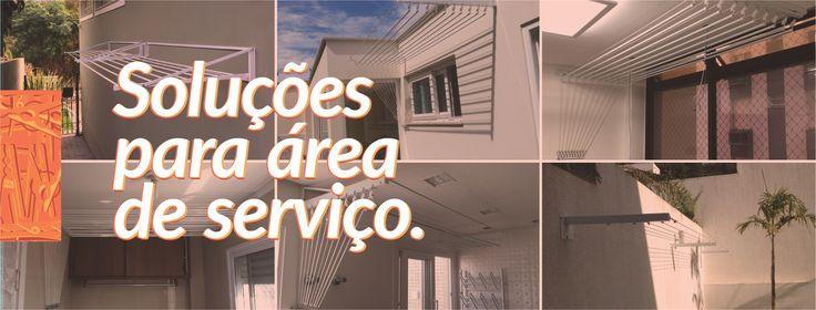 Soluções para área de serviço! Balneário Camburiú, Criciúma e Florianópolis.
