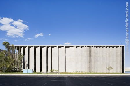 Oscar Niemeyer + Burle Marx - Palace of Justice (Palácio da Justiça)