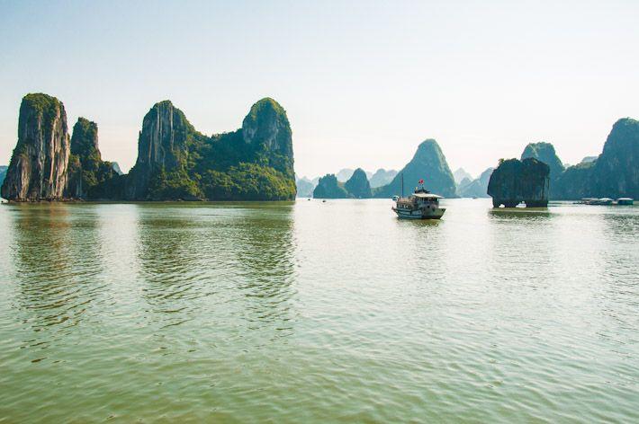 Vịnh Hạ Long, better known as HALONG BAY!  #vietnam