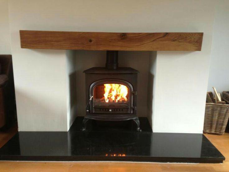 Log Burner Kitchen Pinterest