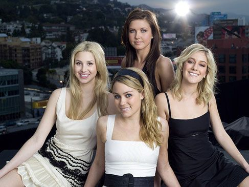 The Hills Cast: Lauren Conrad, Whitney Port, Audrina Partridge and Heidi Montag