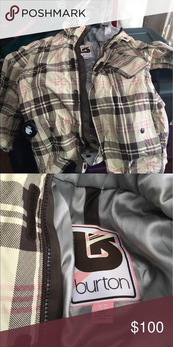 Burton snowboard jacket Like new. Worn once or twice. No signs of wear. Burton Jackets & Coats Utility Jackets