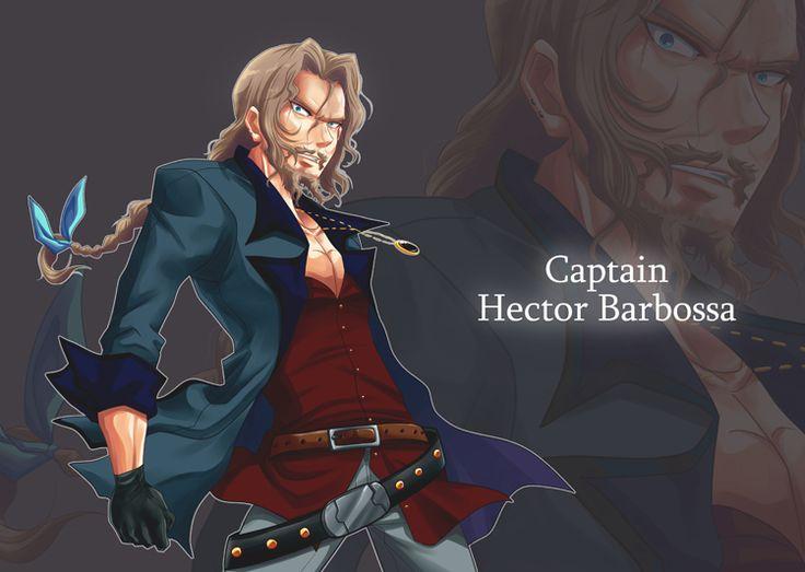 Capitan Hector Barbosa, piratas del caribe Pinterest