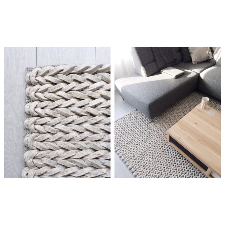 Zuiver Nienke light grey - braided carpet