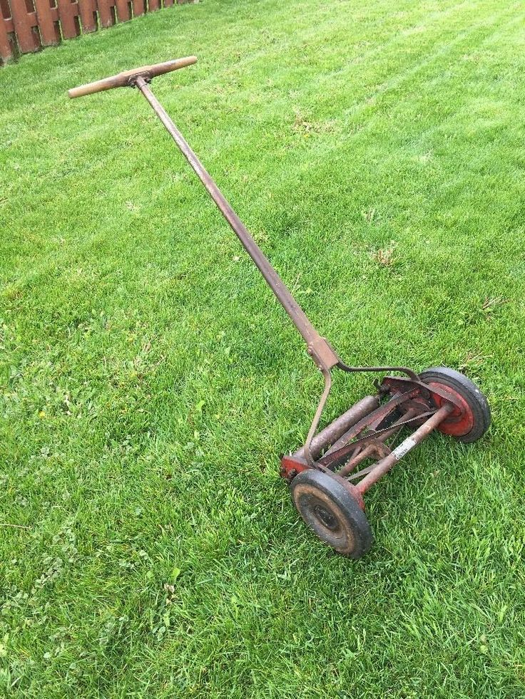 Garden Lawn Mowers : Best images about old reel mowers on pinterest
