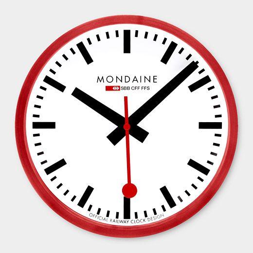 Small Swiss Railway Clock