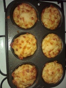 Cheesy Muffins for the kiddies