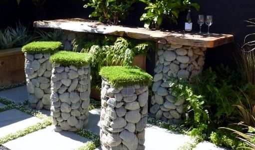 Cheap retaining wall ideas stone rock gabions for Grow landscapes christchurch