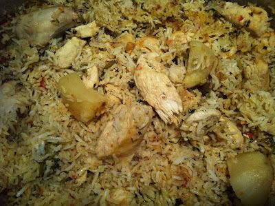 Akni – My favorite Indian rice dish | TheWriteBalance.ca - One Mom's Quest For The Perfect Balance Sarah's Note: made this, but increased ginger, garlic, chillies and salt. yum. love that it uses the prefried onions, made it easier