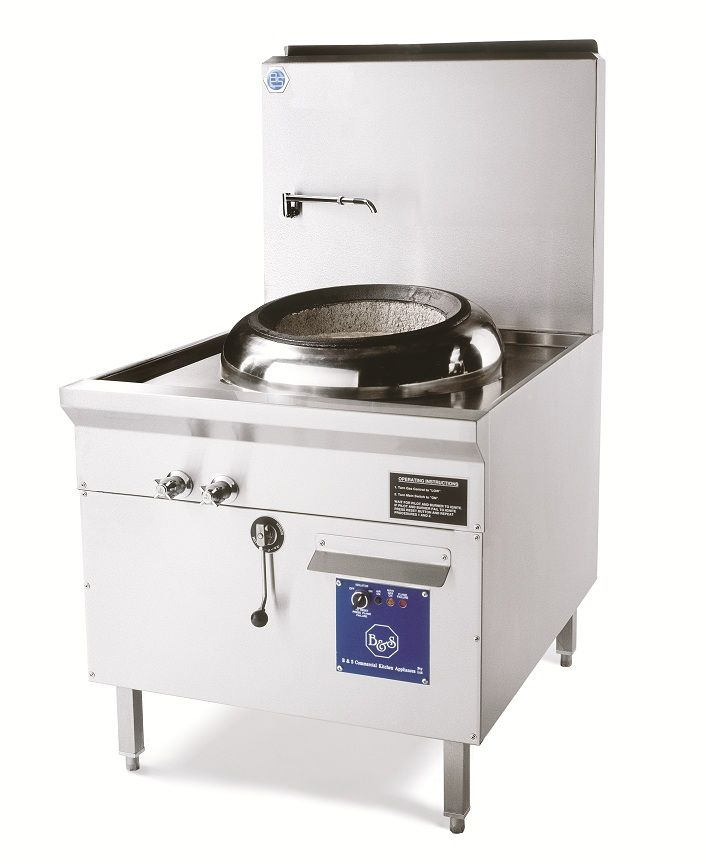 wok burners commercial | Waterless Wok Burner single - Commercial Cooking Equipment ...