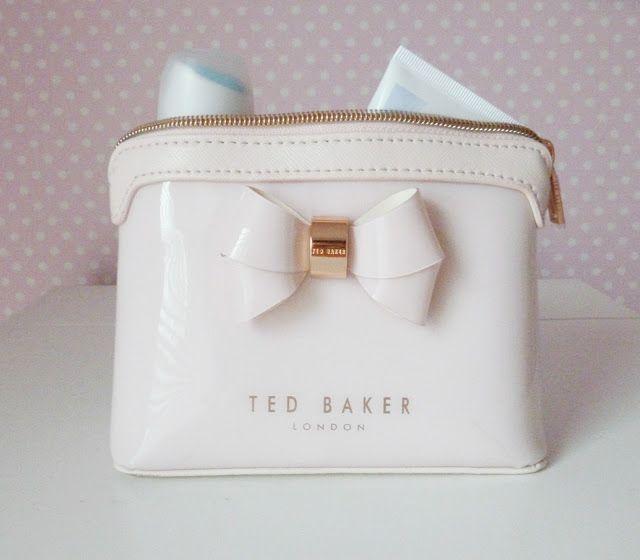 PASTEL TED BAKER MAKEUP BAG