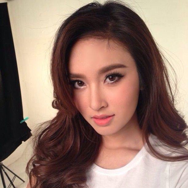 Poy Treechada Beautiful Makeup On Asians Pinterest