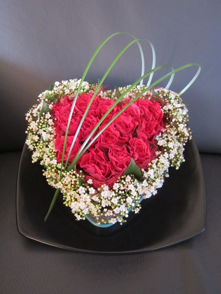 15 Best Bloemschikken Valentijn Images On Pinterest