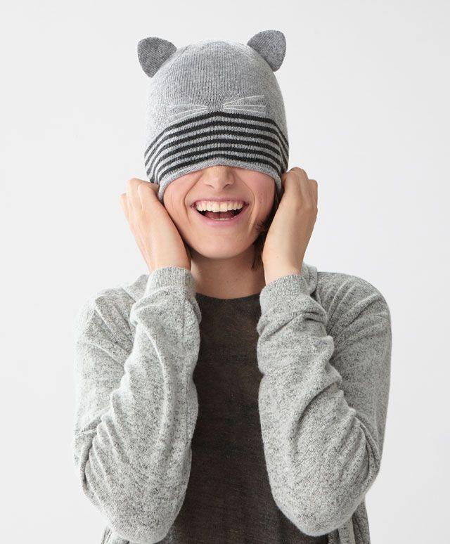 Gorro gato - Novedades - ACCESORIOS | Oysho