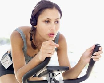 Bike Interval Training instruction, playlist included! From Women's Health Mag