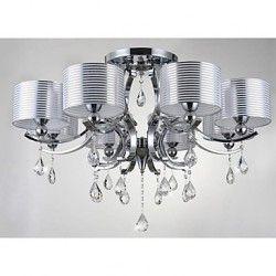 Modern K9 Crystal Chandelier E27 8 Lights. Billiger KronleuchterKronleuchter  ...