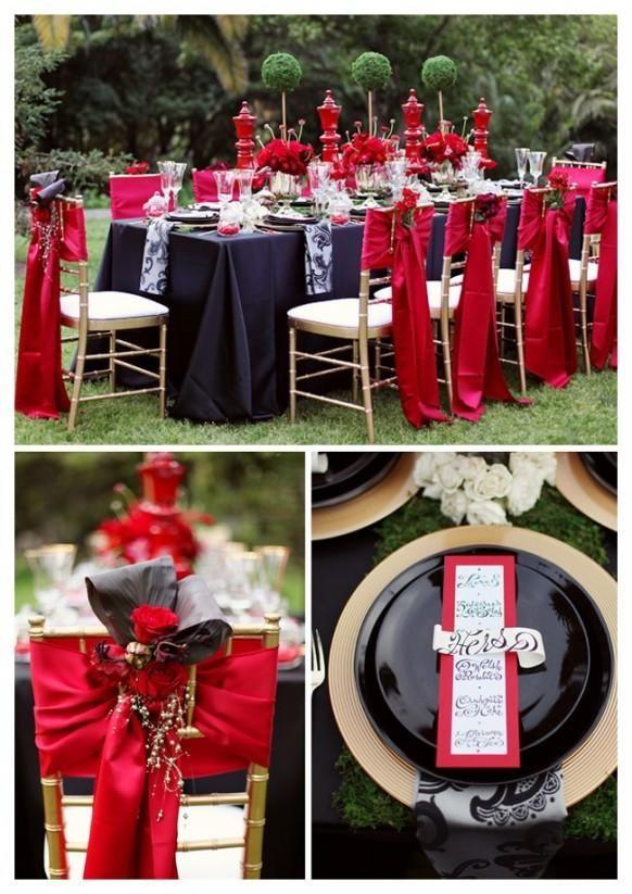 Schwarz Rot und Weiß